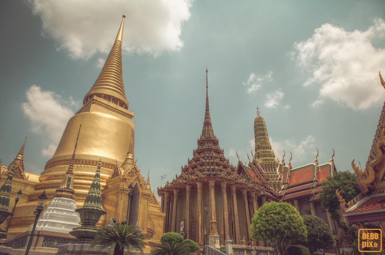 Bangkok – Wat Phra Kaeo & Grand Palais