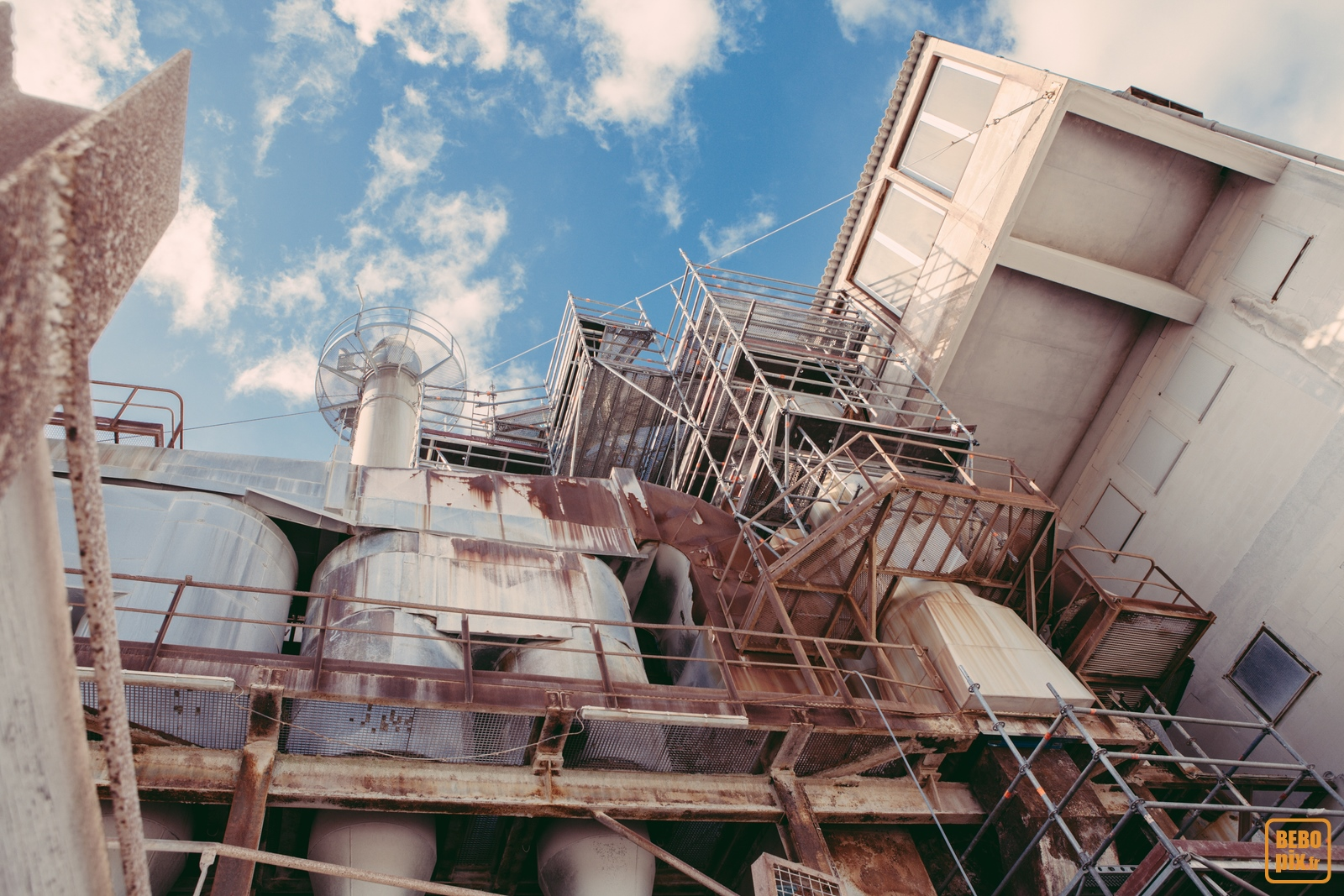 L'usine de chamotte